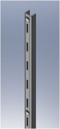 Shelvit Single Slot Wall Stripping - 600mm