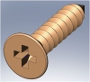 TT61800 Brass Track Screw