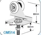 OM51400 Industro Wheel Assembly