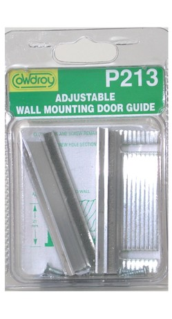 P21300 Adjustable Wall Mount Door Guide
