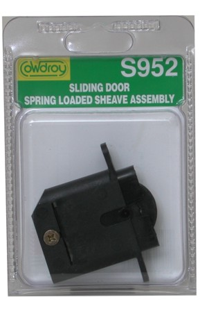 S95200 Concave Wheel Spring Loaded Sheave