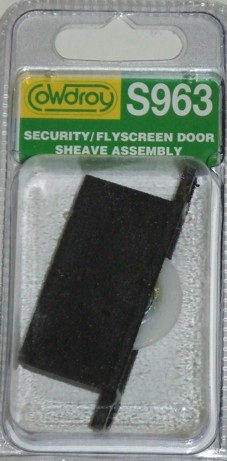 S96300 Security/Flyscreen Concave Wheel Sheave