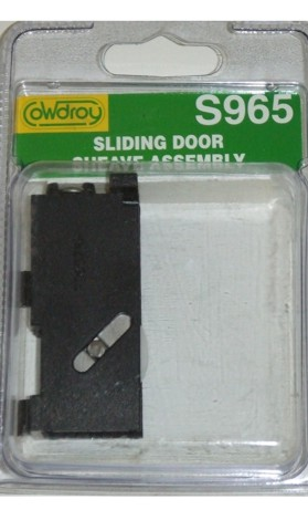S96500 Sliding Door Concave Wheel Sheave - Right Hand