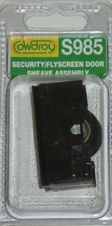 S98500 Security/Flyscreen Concave Wheel Sheave
