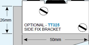 TT32500 Triumph Door Side Fix Bracket